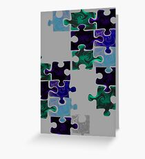 Life Puzzle Greeting Card