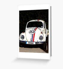 Herbie - 53 Greeting Card