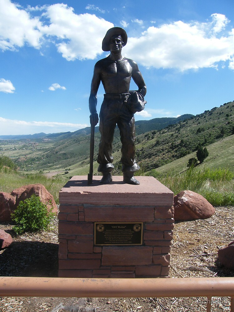 Monument to the CCC workers  by michael51