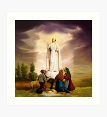 Our Lady of Fatima Art Print & Virgin Mary: Wall Art | Redbubble