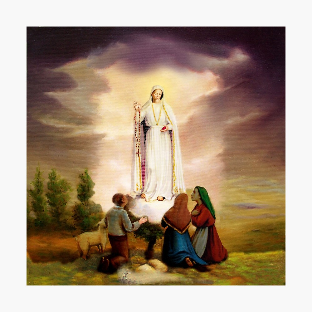 Our Lady of Fatima Photographic Print