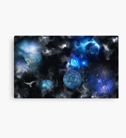 Spirals of Xan Canvas Print