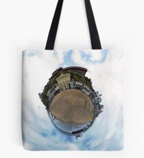 Tiny Planet - Bournemouth UK Tote Bag