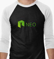 Neo Cryptocurrency Men's Baseball ¾ T-Shirt