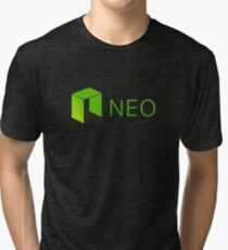 Neo Cryptocurrency Tri-blend T-Shirt