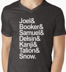 Troy Baker's characters (white) Men's V-Neck T-Shirt
