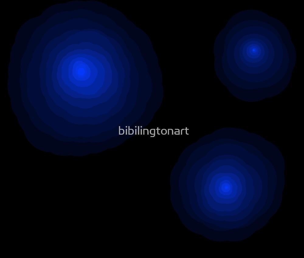 Blue glow fade by bibilingtonart