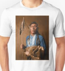 Tries His Knee - Crow American Indian T-Shirt
