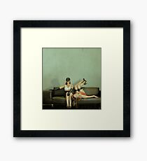 Good Sister, Bad Sister Framed Print