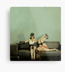 Good Sister, Bad Sister Metal Print