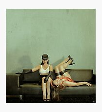 Good Sister, Bad Sister Photographic Print