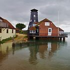 High Tide at Langstone Mill by lezvee