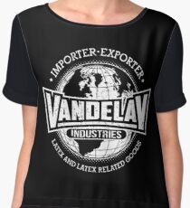 Vandelay Industries (white) Chiffon Top
