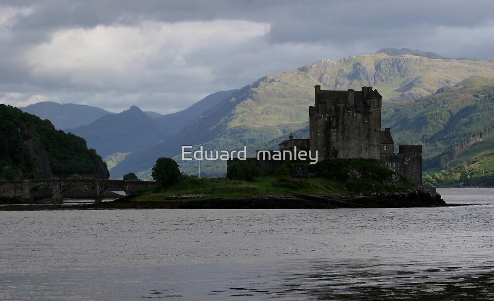 castle of scotland by Edward  manley