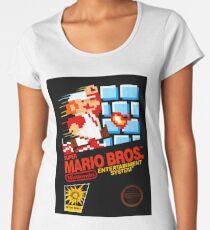 Super Mario Bros Women's Premium T-Shirt