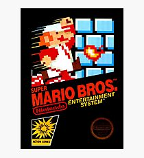 Super Mario Bros Photographic Print