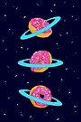 Sugar rings of Saturn by Evgenia Chuvardina