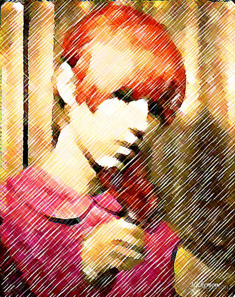 Groovy Redhead by hickerson
