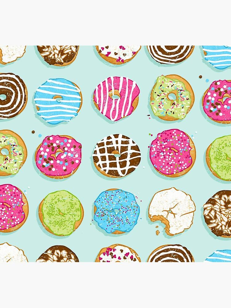 Sweet donuts by Chuvardina