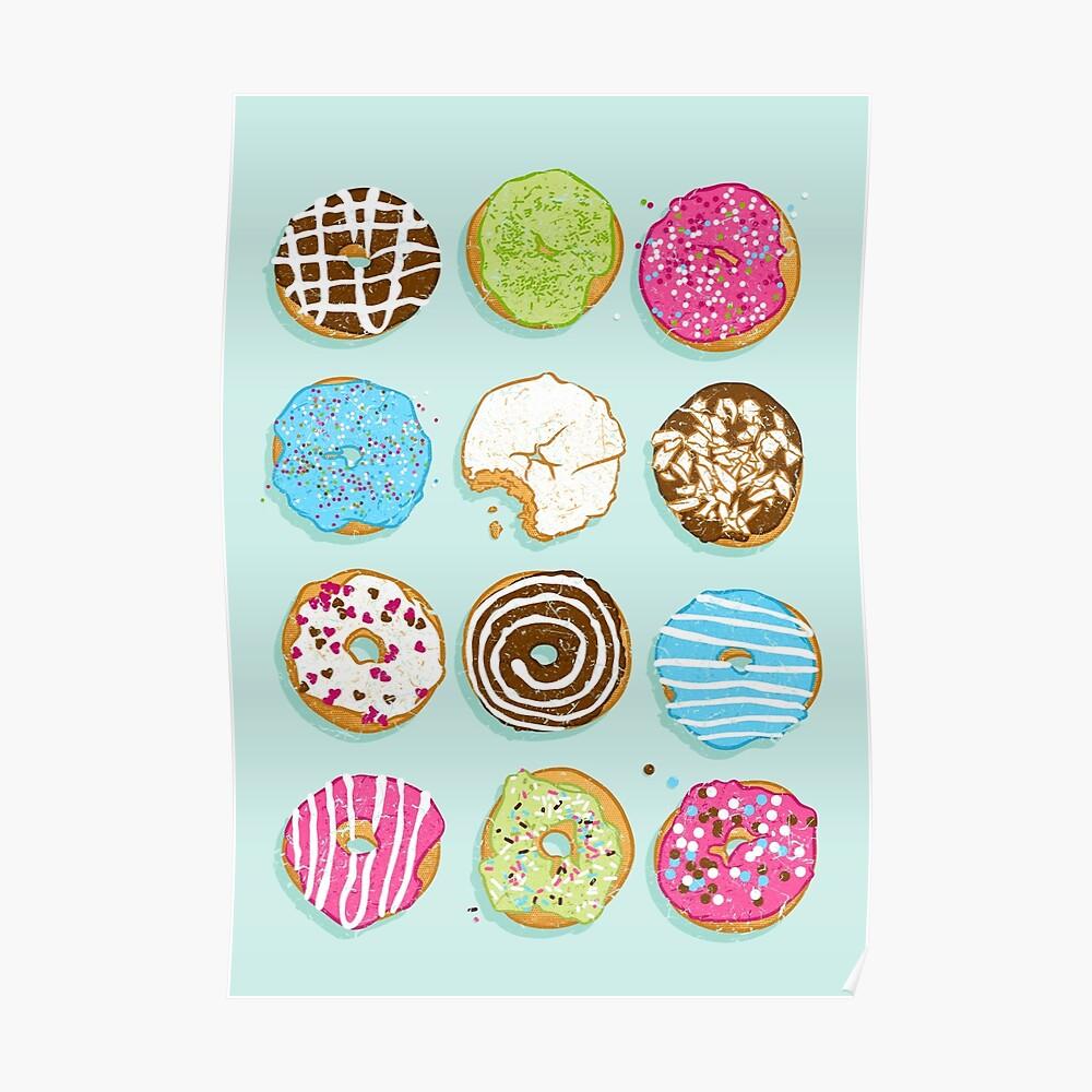 Süße Donuts Poster