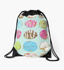 Sweet donuts Drawstring Bag