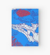 Coral reef Hardcover Journal