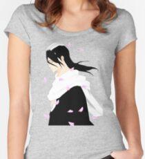 Byakuya Kuchiki Bleach Anime Women's Fitted Scoop T-Shirt