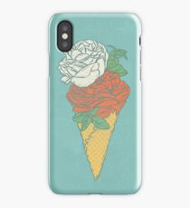 Rose ice cream iPhone Case