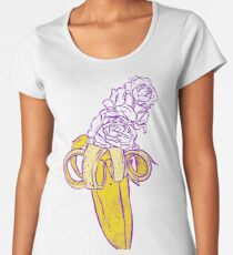 floral banana Women's Premium T-Shirt