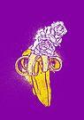 floral banana by Evgenia Chuvardina
