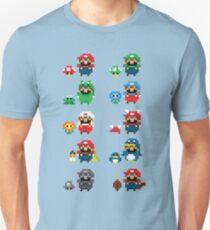 Super Mario Power-Ups  T-Shirt