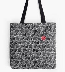 Fantasy Dice Pattern Tote Bag
