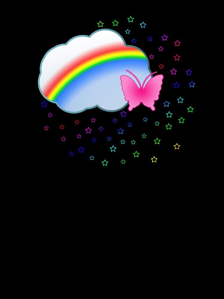 Rainbows Stars & Clouds by Sarah Stallings
