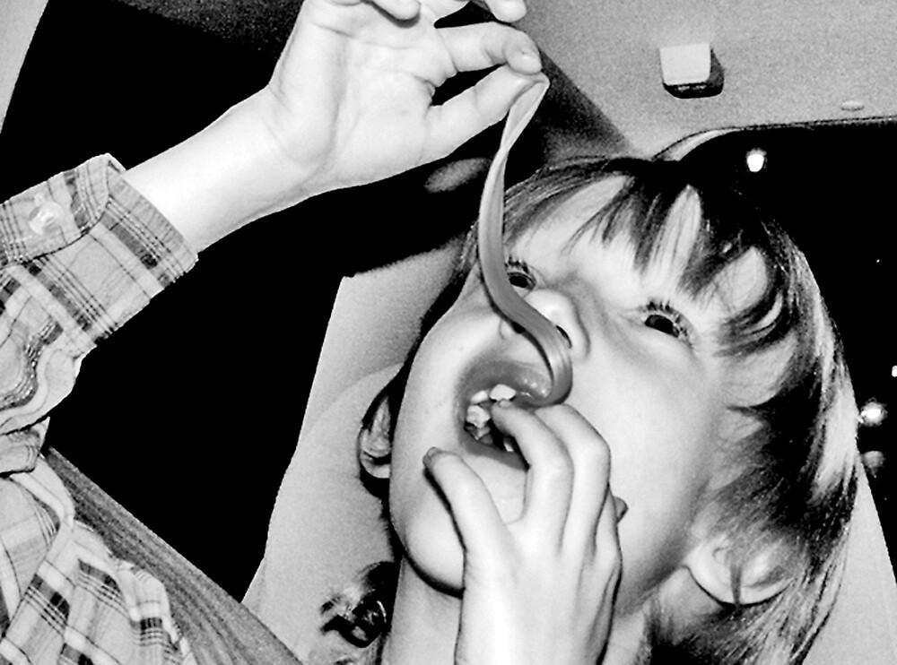 boy & his gum by goldsardine