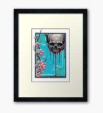 LIFE/DEATH NO BACKGROUND Framed Print
