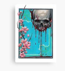 LIFE/DEATH NO BACKGROUND Canvas Print