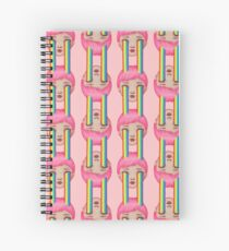 Over the Clouds Spiral Notebook