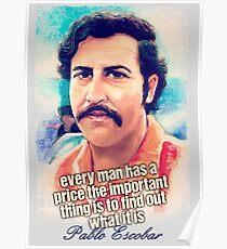 Pablo Escobar Price Poster