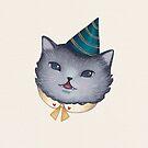 Party Kitten by Emma Hampton
