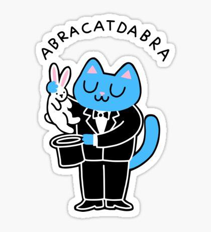 abraCATdabra Glossy Sticker