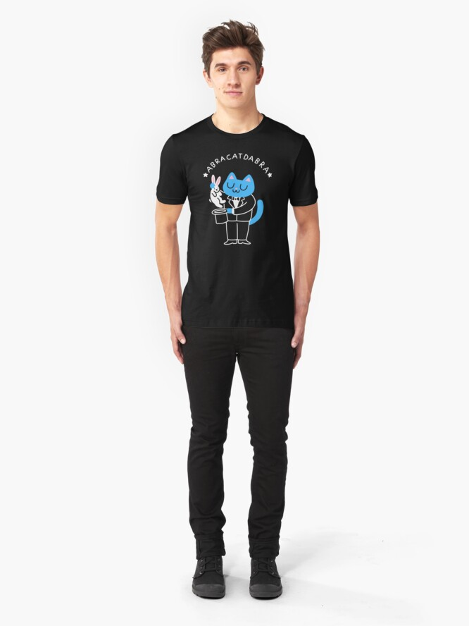 Alternate view of abraCATdabra Slim Fit T-Shirt
