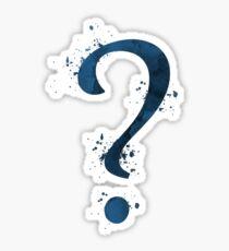 Question mark Sticker
