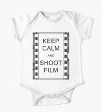 KEEP CALM AND SHOOT FILM Kids Clothes