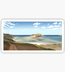 Balos Beach Sticker