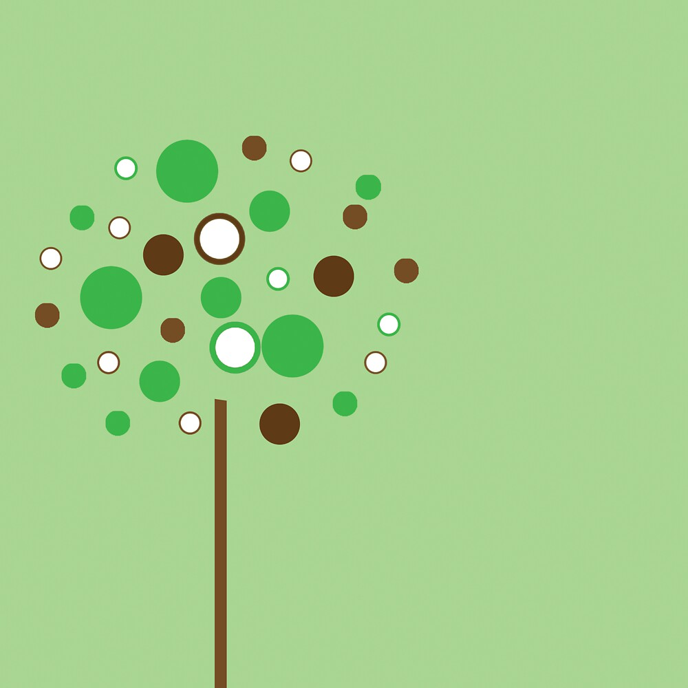 green bubble tree by Sarah Stallings