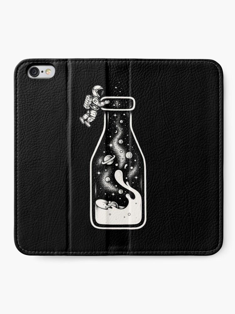 Alternate view of Milky Way iPhone Wallet
