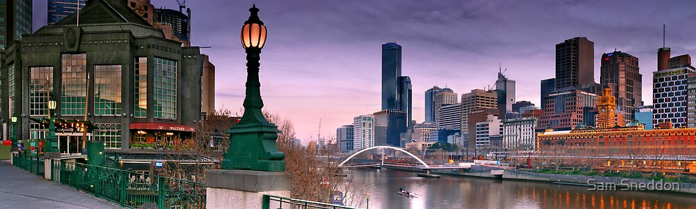 Morning in Melbourne by Sam Sneddon