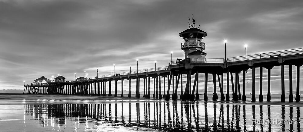 Huntington Beach Pier by Radek Hofman