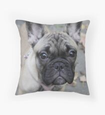 French Bulldog Puppy Throw Pillow