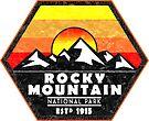 Rocky Mountain National Park Colorado 2 by MyHandmadeSigns